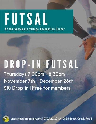 Drop-In Futsal
